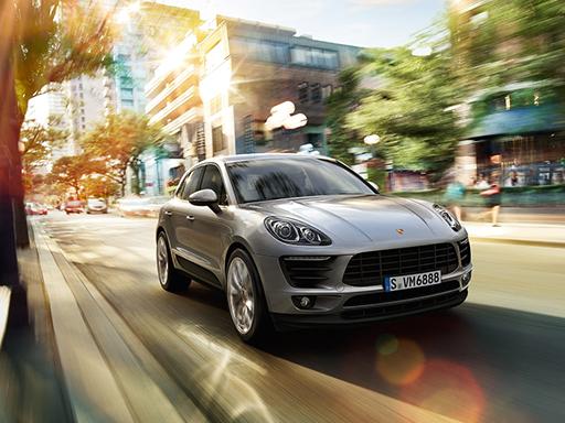 Exklusives Leasingangebot für gewerbliche Kunden: Porsche Macan.