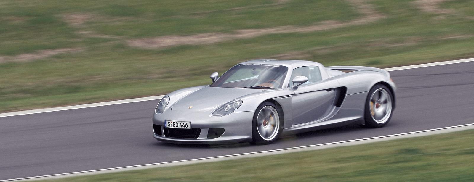 Porsche Carrera GT Stützpunkt